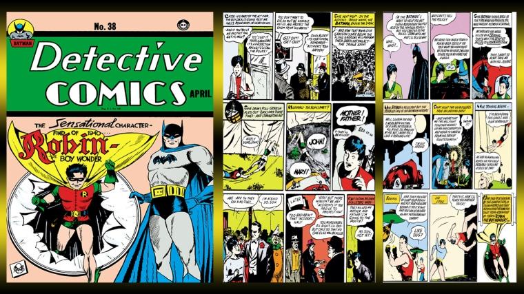 Dick Grayson Becomes Robin