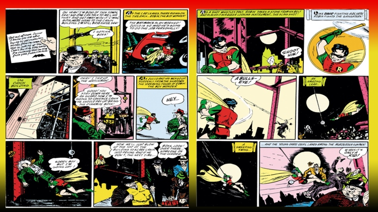 Dick Grayson First Robin appearance