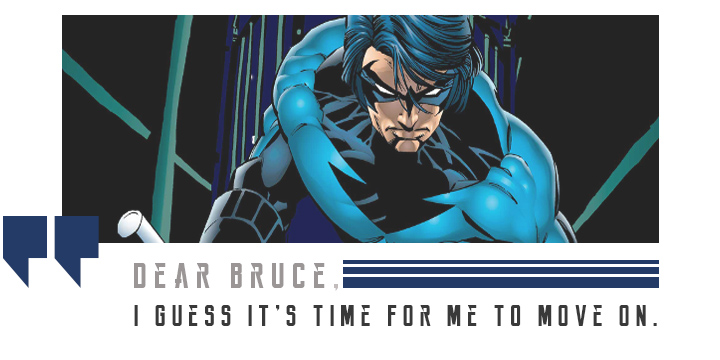Grayson becomes nightwing